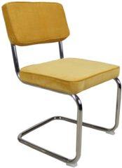 Paarse Kantoormeubelen Plus Ribstoel Basic eettafelstoel, conferentiestoel of vergaderstoel