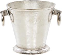 Beliani BIRMA - Flessenkoeler - Zilver - Aluminium