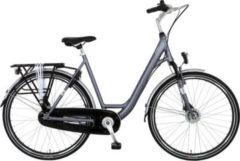 28 Zoll Damen City Fahrrad 7 Gang Hoopfietsen... grau, 56cm
