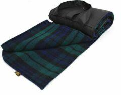 Blauwe Tweedmill Picknickkleed Eventer Large Blackwatch