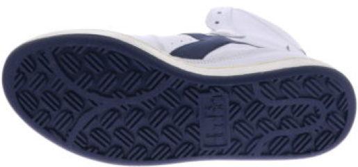 Witte Diadora Mi Basket Used White Corsair Sneakers hoge-sneakers