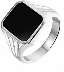 Huiscollectie Zilveren Zegelring onyx 21.00 mm (66)
