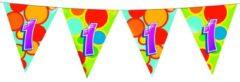 Haza Original vlaggenlijn multicolor 1 jaar 10 meter