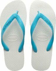 Lichtblauwe Havaianas Tradicional Slippers Unisex - Light Blue - Maat 39/40
