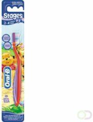 Rode Oral-B Oral B Tandenborstel Stages 2 2-4 Jaar Voordeelverpakking