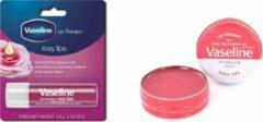 Vaseline Lip Therapy -Rosy Lips 20g & Vaseline Roy Lips lippenstift lippenbalsem 4,8 g