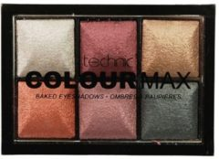 Beige Technic Colour Max Baked Eyeshadows Treasure Chest