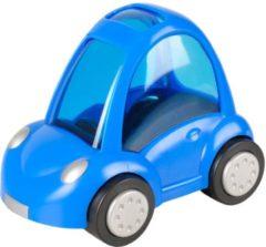 Flamingo Knaagdierenspeelgoed Bertrand Auto - Speelgoed - 14x9x11 cm Blauw Wit Zwart