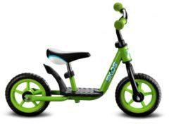 Skids Control Loopfiets - Loopfiets - Jongens en meisjes - Groen;Zwart - 10 Inch