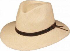 Naturelkleurige Panama hoed Scippis Loreto kleur natuur maat M