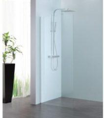 Royal Plaza Parri walk-in 120x200cm zilver profiel en helder glas met clean coating 23786