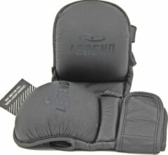 Grijze Legend Sports Mma-handschoenen Legend Padding Stealth Met Duim Mt M