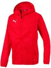 Regenjacke Liga Training Rain Jacket Core mit Unterarm-Einsätzen 655304-03 Puma Puma Red-Puma White
