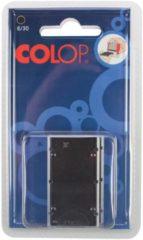 Colop stempelkussen zwart, voor stempel P30, P30N, 30/1, blister van 2 stuks