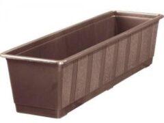 Geli Balkonbak standaard bruin - Balkonbak bruin 100 cm