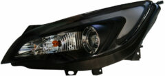 Universeel Set Koplampen DRL-Look 'Light-Bar' Opel Astra J 5-deurs 2009-2015 - Zwart - incl. Motor
