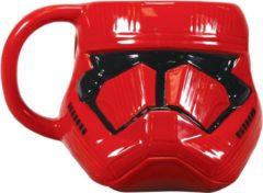 Grijze Half Moon Bay Star Wars: The Rise of Skywalker Shaped Mug - Sith Trooper