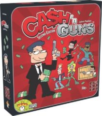 Repos Production gezelschapsspel Cash 'n Guns 2de editite