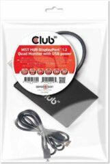 Club 3D Club3D CSV-6400 DisplayPort Adapter [1x DisplayPort stekker - 4x DisplayPort bus] Zwart