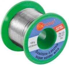 Solder ? 0,35 mm 100 g reel material : L-Sn / Ag 3,5% / Cu 0,7% - Goob
