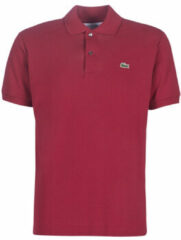 Bordeauxrode Polo Shirt Korte Mouw Lacoste POLO L12 12 REGULAR
