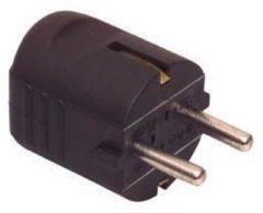 Kabeldirect Kopp El-st004 Randaarde Stekker Zwart