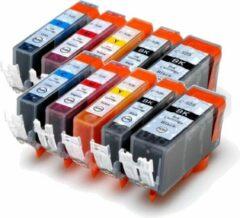 Cyane MediaHolland Huismerk Cartridges CLI526-PGI525 Voordeelpack 10 stuks