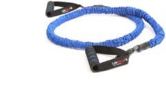 LifeMaxx LMX Power Tube Weerstandsband 125 cm - Blauw - Level 4