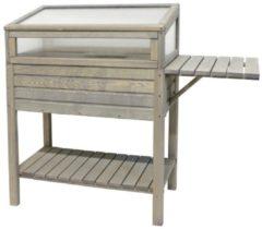 Gardissimo Holz-Hochbeet 118x39x107 cm, grau Gardissimo Cool Grey