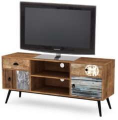 Home Style Tv-meubel Lima 120 cm breed in multicolor