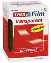 Tesa 57403-00002-00 tesafilm tesafilm Transparant (l x b) 66 m x 12 mm 12 rollen