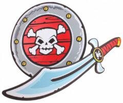 Lg-imports Piratenset Met Zwaard En Schild
