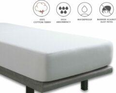 Witte Tural - Waterdichte matrasbeschermer. 100% katoenen badstof. Maat 70x140 cm