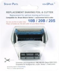 Scheerkop voor een Braun scheerapparaat 1000/2000 series 81296061, 10B, 20B