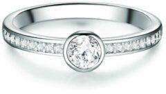Zilveren Tresor 1934 Solitaire ring