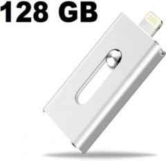 I12Cover Flashdrive Zilver - USB-stick - 128 GB
