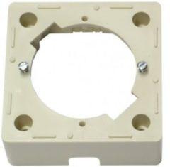 Creme witte Braun Telecom wandcontactdoos opbouwrand SAD 165
