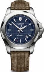 Blauwe Analoog horloge 'I.N.O.X. Mechanical'