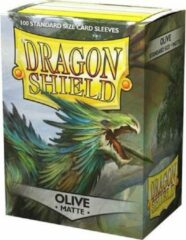 Dragonshield 100 Box Sleeves Matte Olive