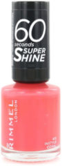 Rimmel London Rimmel - 60 seconds supershine nailpolish - Instyle Coral - Peach-Coral