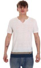 Beige T-shirt Korte Mouw Gaudi 011BU53021