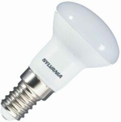 Witte Sylvania reflectorlamp r39 led 3w (vervangt 25w) kleine fitting e14