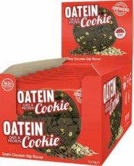Oatein Haver & Proteïne Cookies - Eiwit Snacks - Double Chocolate Chip - 900 gram (12 koeken)