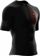 Compressport Shirt Postural Dames Polyester Zwart Mt M