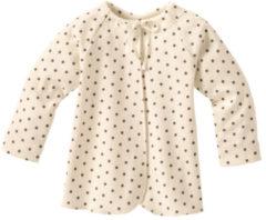 Minibär DESIGN Baby-overslaghemdje uit biologisch katoen, met stippen 62/68