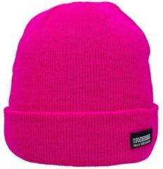Poederbaas muts One Size - roze, muts voor après-ski, skimuts voor wintersport, wintersport muts