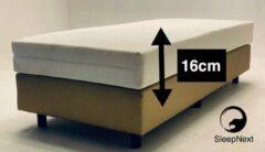 Witte SleepNext Luxe Pocket matras - 180x200cm - Dikte 21cm