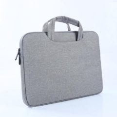 "MoKo H221 Sleeve 13.3 inch Notebook Tas - Hoes Multipurpose voor MacBook Air, MacBook Pro Retina, 13,5"" Microsoft Surface Book, XPS 13 - grijs"