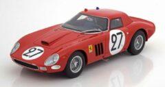Ferrari 250 GTO No.27, 24Hrs Le Mans 1964 Tavano/Grossmann Rood 1-18 CMR Models ( Resin )