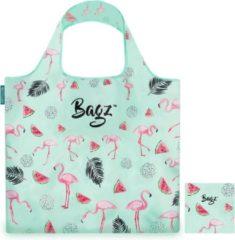 Groene Bagz Happy Flamingo 1094631 opvouwbare tas gemaakt van gerecycled plastic